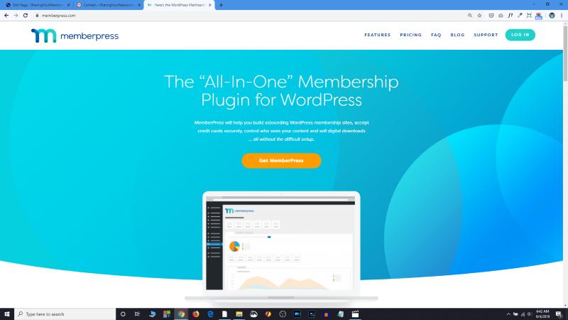 Easily install memberspress plugin