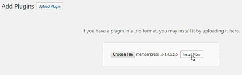 Easily Install MemberPress Plugin