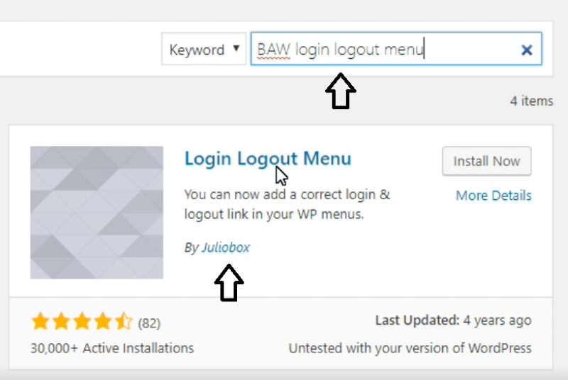 Easily Add WordPress Smart Login Logout Menu Links and MemberPress